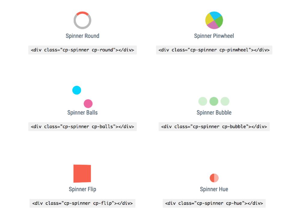 Loaders y spinners en CSS gratuitos y listos para usar