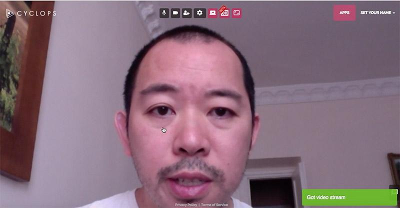 Cyclops, para hacer videoconferencias con funciones avanzadas, gratis y sin registro