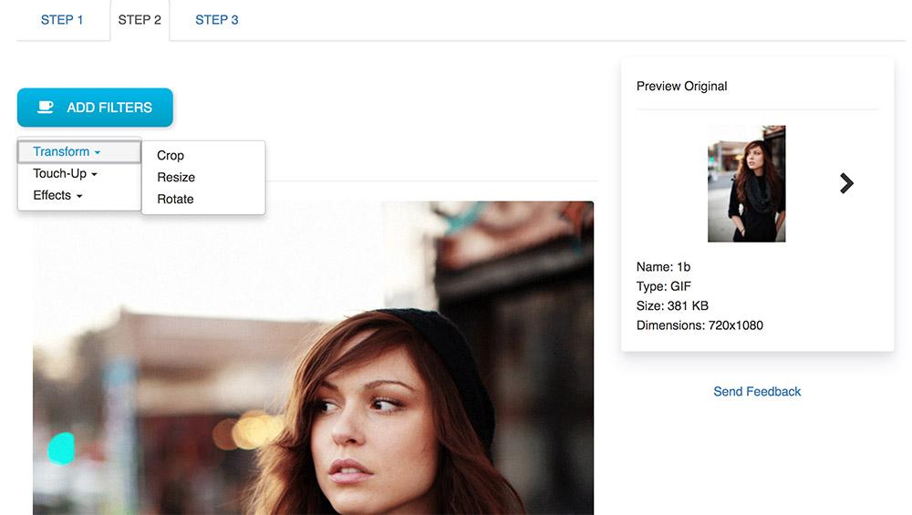 Batchphoto Expresso: Herramienta para editar imágenes en lote online