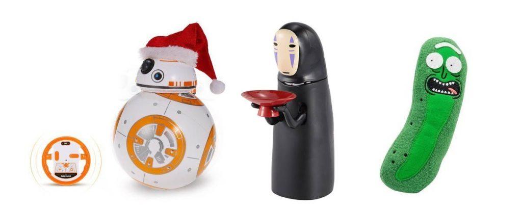 Algunos regalos geek baratos para esta Navidad