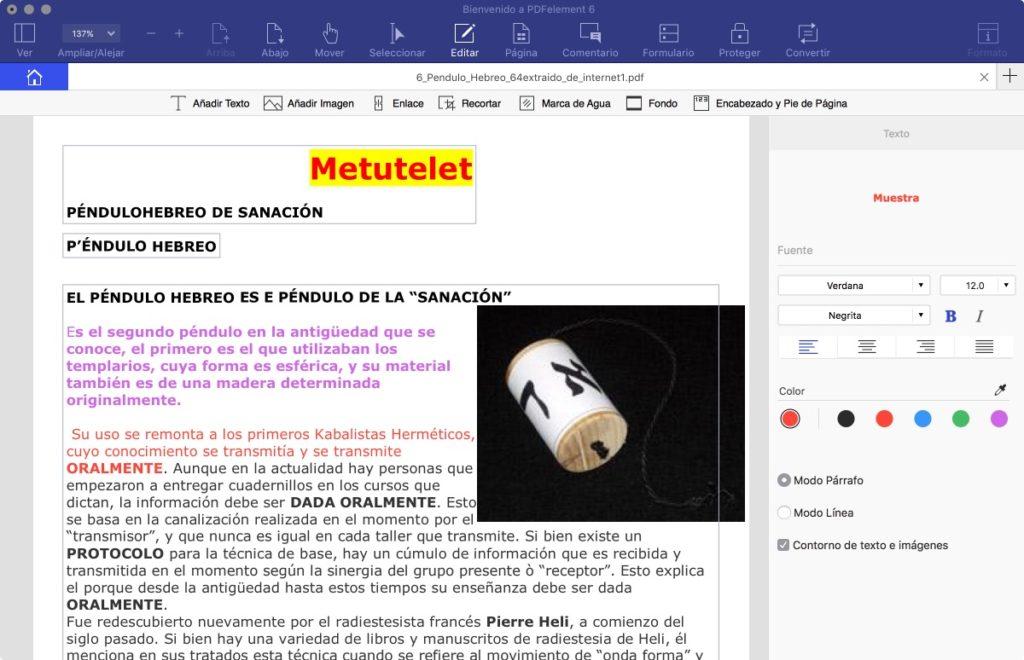 PDFelement 6, el mejor software para crear, editar y convertir archivos PDF