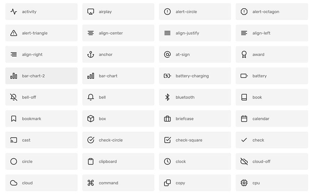 Excelente set de íconos open source para diseño web o aplicaciones