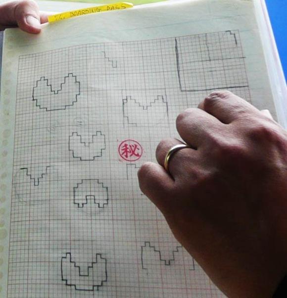 Bocetos originales de Pac-Man