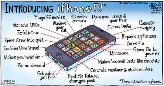 Presentando al iPhone 5 [Humor]